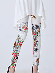 Women's Polyester Cotton Blends Print Legging This Style is TRUE to SIZE.
