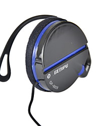 GENIPU GP-8809 3.5mm Hi-fi Stereo Music Clip-on Earphone