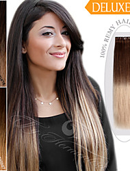 Tape in Hair/ Skin Weft/ PU Weft Ty.Hermenlisa 100% Russian Remy Human Hair  Ombre Color