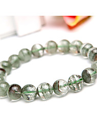 Pure Natural Green Stone Crystal Hand String