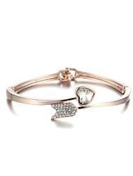 Sjewelry Girls Fashion Latest Style Plating Rose Gold Bracelet