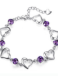 Women's 925 925 silver plating bracelet high quality type(single)