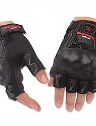 Motorrad-Handschuhe Kurzfinger Nylon/Coolmax/Netz M/L/XL Schwarz