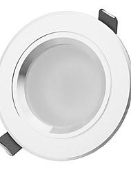 7W LED даунлайт 7 Высокомощный LED 630-770lm lm Тёплый белый / Естественный белый Декоративная AC 85-265 V 1 шт.