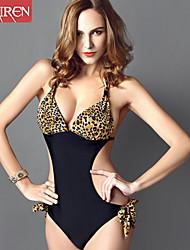 Muairen® Women'S The New Piece SwimSuit Sexy Leopard ConServative SwimSuit