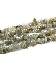 "Beadia Labradorite Stone Beads 5-8mm Irregular Shape DIY Loose Beads For Making Necklace Bracelet 34""/Str"