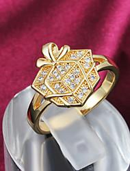 oro partito anello dichiarazione ha placcato i grandi anelli per le donne più caldo di moda più caldo di moda
