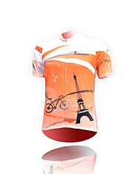 Cycling Jersey Unisex Short Sleeve Bike Breathable / Quick Dry / Ultraviolet Resistant / Moisture Permeability / Antistatic Jersey / Tops