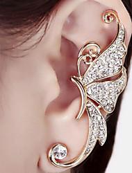 Brinco Punhos da orelha Jóias 1pç Pedras dos signos Casamento / Pesta / Diário / Casual Liga Feminino Dourado