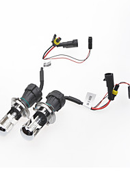 H4 35W 6000K Telescoping HID Xenon Lamp with Wiring Harness Controller