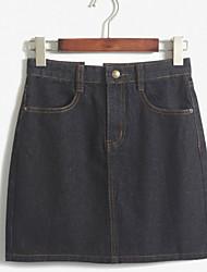 Women's Short Skirt Of Tall Waist Skirts