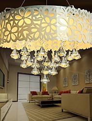 maishang® rincer cristal montage / led moderne / contemporaine salon / chambre / salle à manger / salle d'étude / bureau métallique