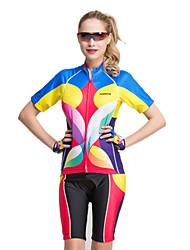 forider® riding ropa deportiva de moda de neón set vestido de manga corta