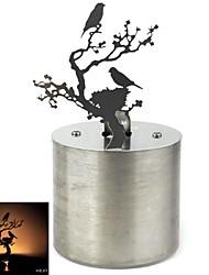 cuisine créative nid projection de lumière de l'oiseau
