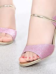 Women's Shoes Stiletto Heel Open Toe Sandals Dress Black/Purple/Gold