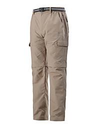 Pantalones Cortos/Pantalones ( Gris oscuro/Verde Militar ) -Impermeable/Transpirable/Aislado/Resistente a los UV/Secado rápido/Resistente
