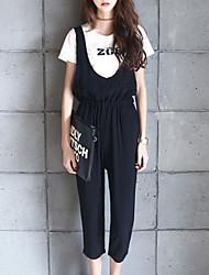 Women's Fashion Clothing Sets (Print T-shirt & Jumpsuits)