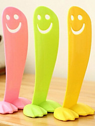 1 PCS Fashion Creative Smiling Face Plastic Heel Shoe Horns 13*5.5*3 CM