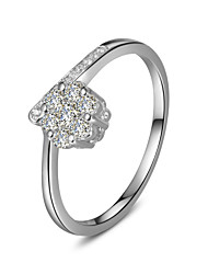 Special Hexagon Style Jewelry Sterling Silver Ring Engagement SONA Simulate Diamond Ring for Women Platinum Plated