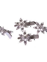 Starfish Alloy Barrette With Rhinestone Wedding/Party Headpiece
