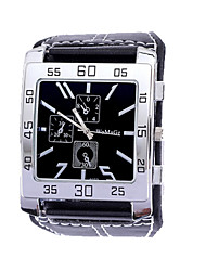 Langeshi®Trend Square Leather Men Ladies Watches
