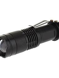 Освещение Светодиодные фонари / Ручные фонарики LED 240 Люмен 3 Режим Cree XR-E Q5 AA Фокусировка Повседневное использованиеАлюминиевый