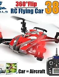 jxd389 4CH RC Spielzeug 2-in-1 2,4 GHz rc fliegende Auto quadcopter mit 6-Achsen-Gyro LED-Licht rtf Flugzeug