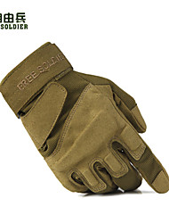 FreeSoldier Cycling Camping Anti-skid Full Finger Black+Sandy+Army Green Nylon Classic Gloves