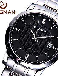 EASMAN Men Watch Diamond Business Luxury Brand Gloden Automatic Mechanical Watches Sapphire Wristwatches