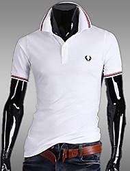 Herren Freizeit/Büro/Formal Polo  -  Einfarbig Kurz Polyester