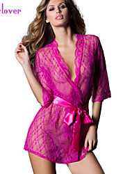 Women Lace/Polyester/Spandex Babydoll & Slips/Lace Lingerie/Matching Bralettes/Robes/Ultra Sexy/Suits Nightwear