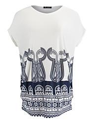 Women's Short Sleeve Ice Silk Mini Dress