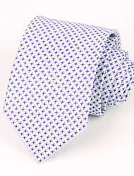 Purple Plaid Silk Tie