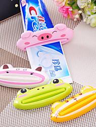 Cartoon Toothpaste Squeezer Animal Tube Dispenser Random