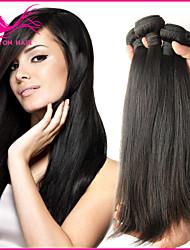 3pcs vendita calda del lotto non trattati vergini all'ingrosso groviglio capelli brasiliani liberare nessun spargimento