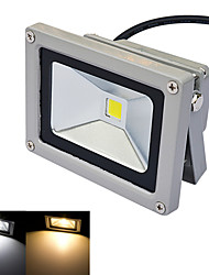 jiawen® grau ip65 wasserdicht 10w 980lm 3000-3200K / 6000-6500K, warmweißes Licht / Weißlicht LED Flutlicht (DC 12V)