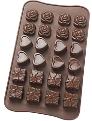 Platinum Silicone Chocolate Mould