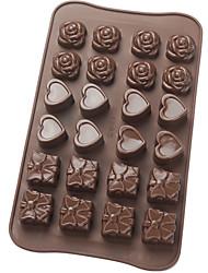 platine moule de chocolat de silicone
