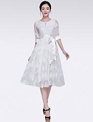 Yalun® Women's Sweet Elegant Print Casual Dress