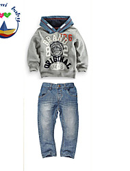 Boy's Cotton Blend Jeans/Clothing Set , All Seasons Long Sleeve