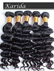 3 pieces/lot No Shedding, No Tangle Natural Wave Hair Extension, Brazilian Human Hair Sew in Weave