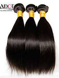"3 Pcs Lot 8""-28"" Filipino Virgin Hair Straight Natural Black Human Hair Weave Bundles Tangle Free Soft Hair Extensions"