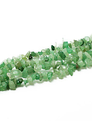 "Beadia Aventurine Green Stone Beads 5-8mm Irregular Shape DIY Loose Beads For Making Necklace Bracelet 34""/Str"