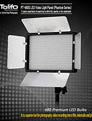 pt-680s d'éclairage LED vidéo numérique lumière