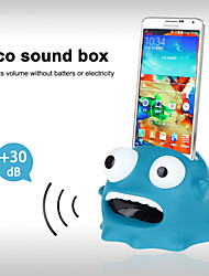 Cute Cartoon Hands-Free Sound Amplifier Stand Speaker Holder for Sumsung S3/S4/Note2 (Blue)