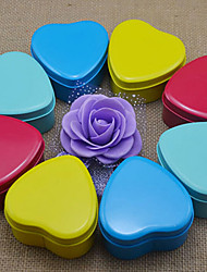 6 Piece/Set Favor Holder - Heart-shaped Iron(nickel plated) Favor Tins and Pails/Favor Boxes Non-personalised