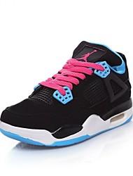 Scarpe Donna - Sneakers alla moda - Casual - Punta arrotondata - Basso - Finta pelle - Nero / Blu / Rosso