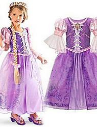 Rainbow Kid's Vintage/Lace/Party Dresses (Cotton Blend)