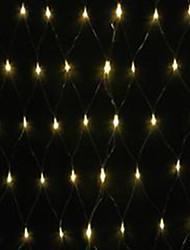 5W 1.5x1.5 метра 96pcs привели чистый свет с AC110-220V ввода ПВХ прозрачный, теплый белый цвет