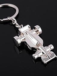 Zinc Alloy F1 Racing Kart Car Key Chain Ring Keyring